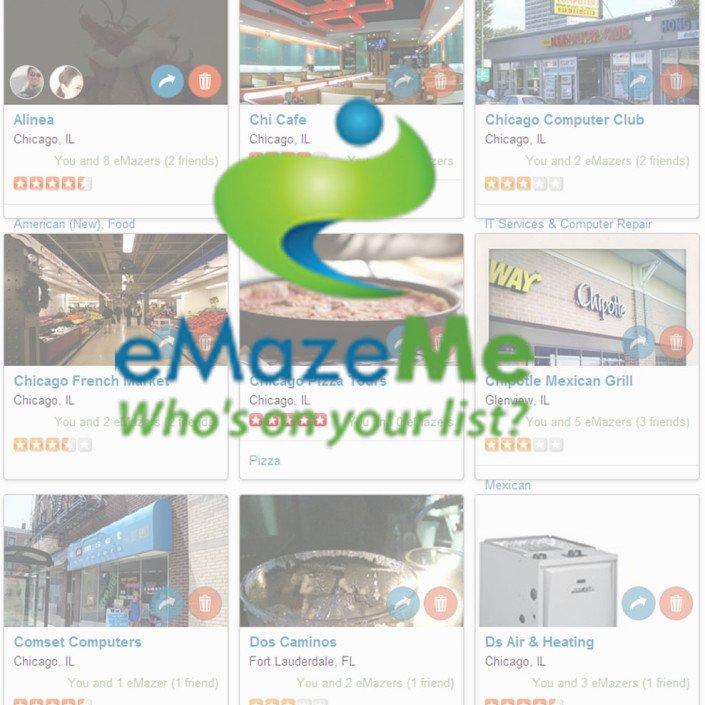 eMazeMe Website Design