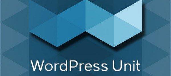 WordPress Unit