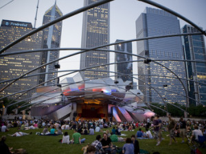 See concerts and public art in Millennium Park