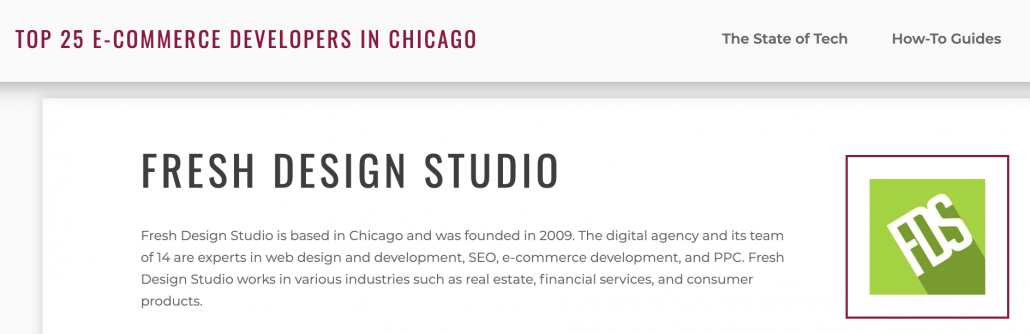 Chicago Top E-commerce Developer